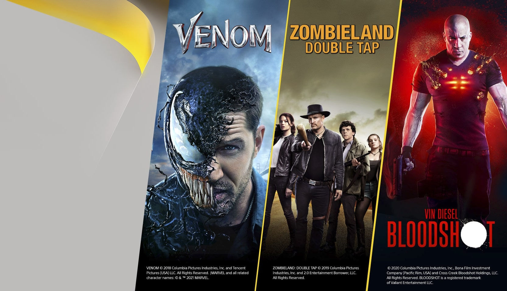 what films you can find in playstation plus video pass